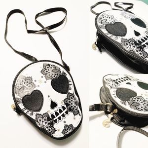 Small Sugar Skull Purse